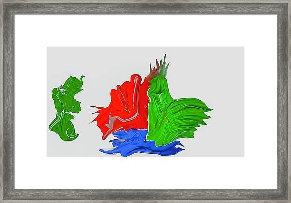 Funny Figures #h7 Framed Print