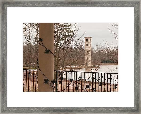 Furman Bell Tower 1 Framed Print