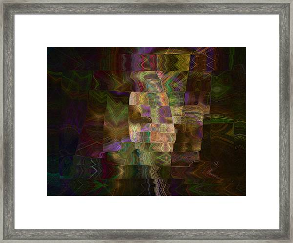 Furrows Framed Print