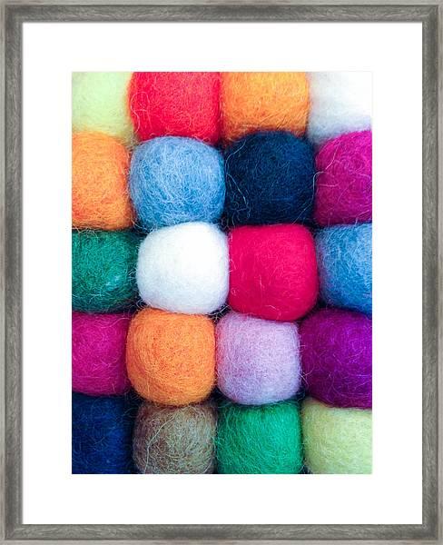 Fuzzy Wuzzies Framed Print