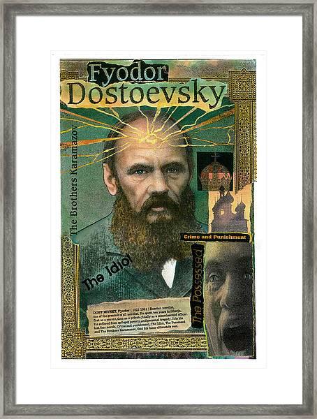Fyodor Dostoevsky Framed Print