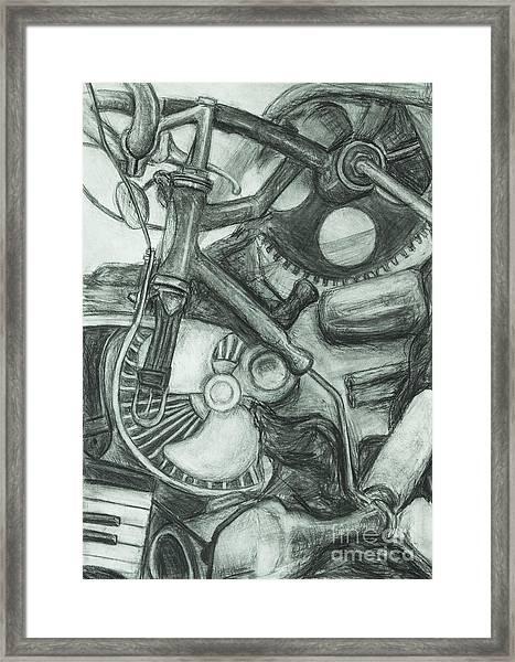Gadgets Of Sorts Framed Print