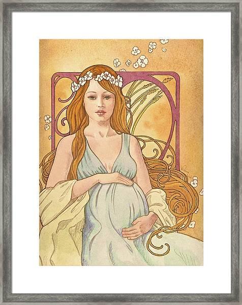 Gaia Reverie Framed Print