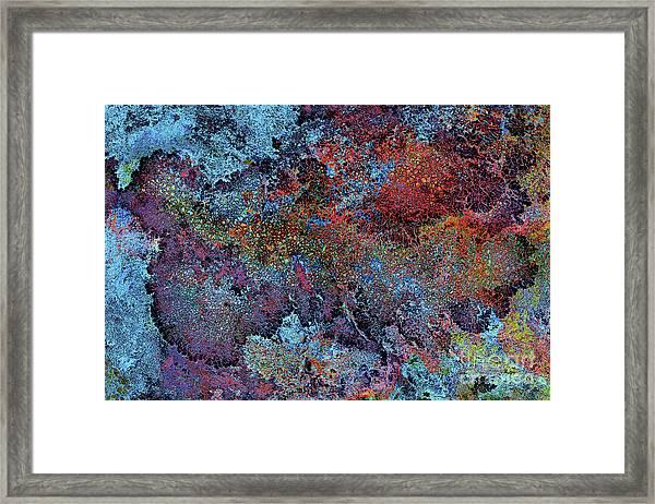 Galaxy Bellevue Plateau Framed Print