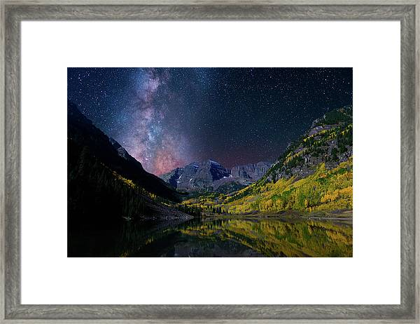 Galaxy Bells Framed Print