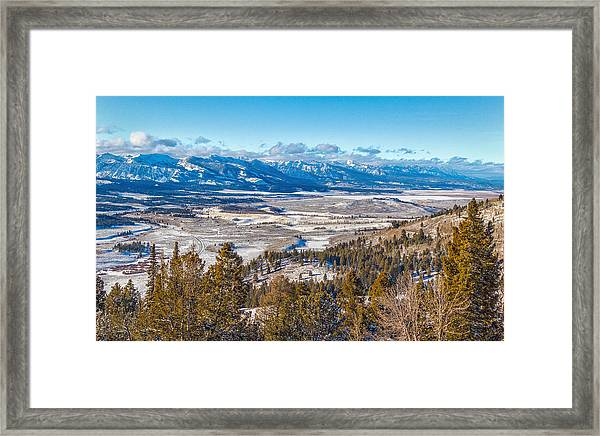 Galena Summit Idaho Framed Print
