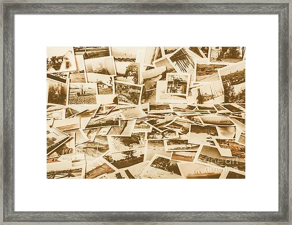 Gallery Of Old Landscape And Antique Places Framed Print