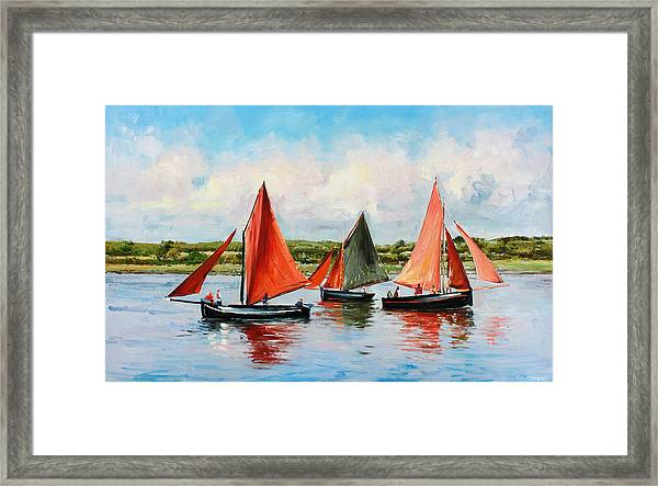 Galway Hookers Framed Print