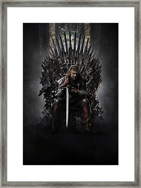 Game Of Thrones 2011 Framed Print