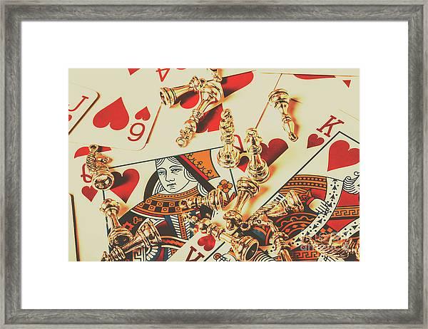 Games Of Love Framed Print