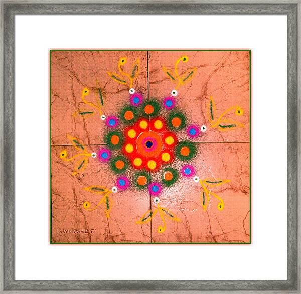 Ganesh Chaturthi 2016 Framed Print