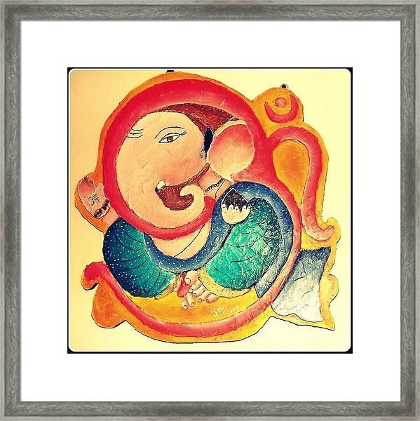 Ganesha 2 Framed Print