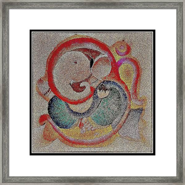 Ganesha 3 Framed Print