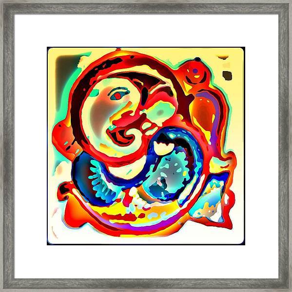 Ganesha 4 Framed Print