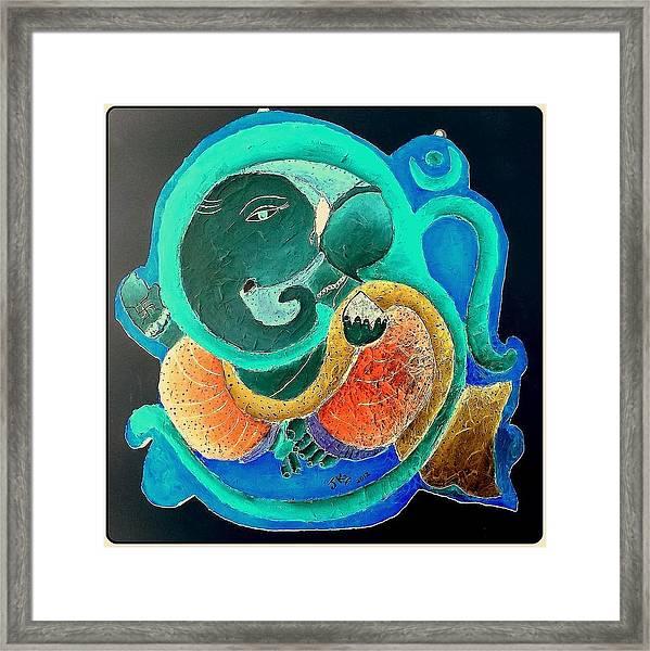 Ganesha 5 Framed Print