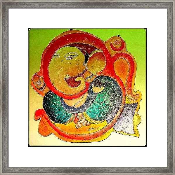 Ganesha 6 Framed Print