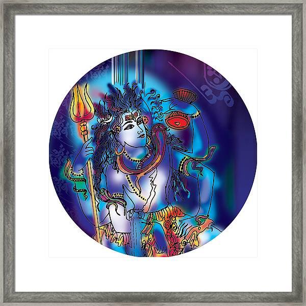 Gangeshvar Shiva Framed Print