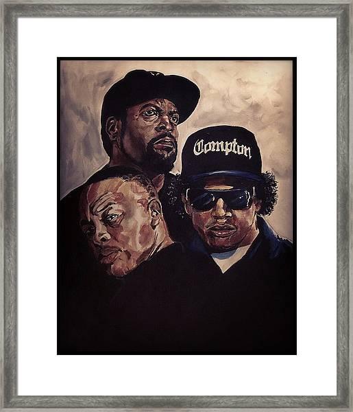 Gangsta Trinity Framed Print