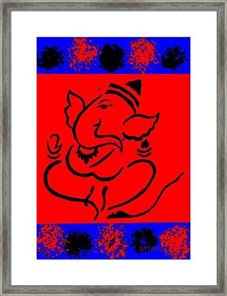 Gannayak Framed Print