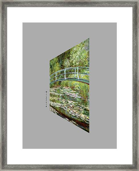 Garden At Noon Framed Print