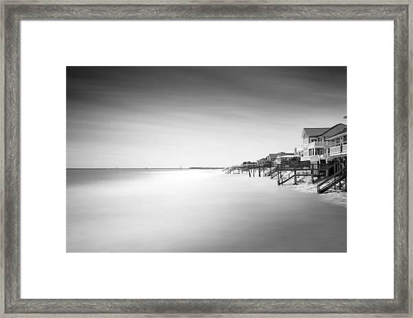Garden City Ocean Front Living II Framed Print