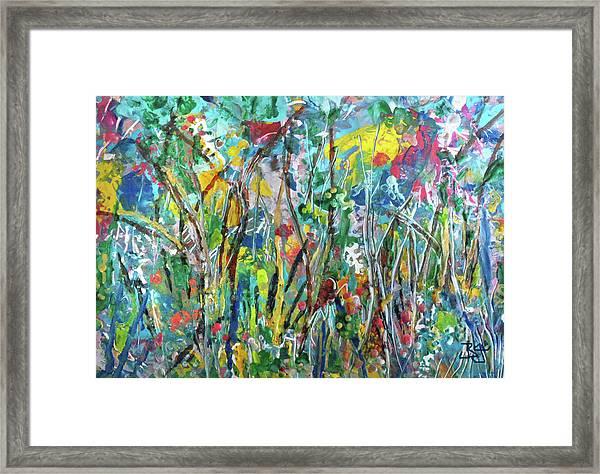 Garden Flourish Framed Print