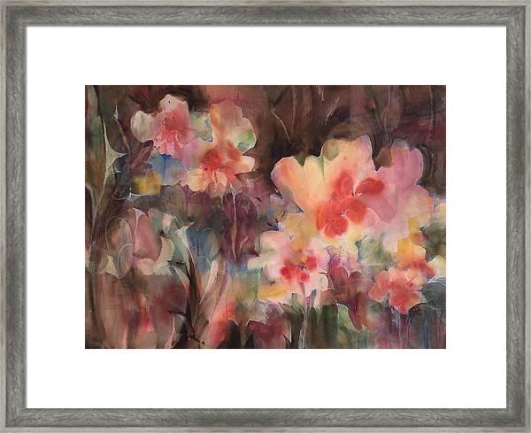 Garden Parade Framed Print