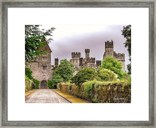 Framed Print featuring the photograph Gardens At Lismore Castle by Claudia Abbott
