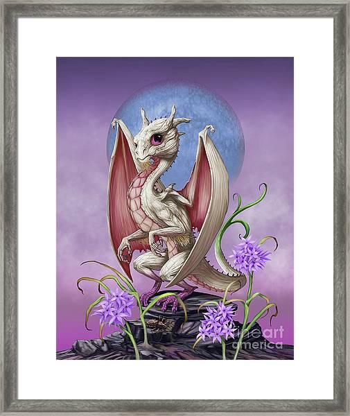 Garlic Dragon Framed Print