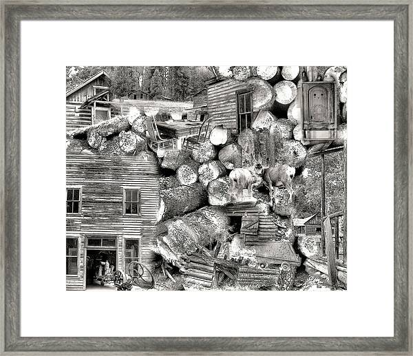 Garnet Montana Framed Print