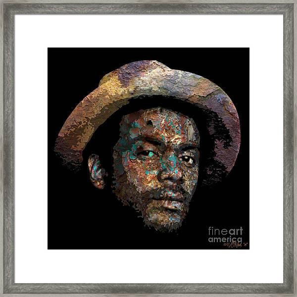 Gary Clark, Jr. No. 2 Framed Print