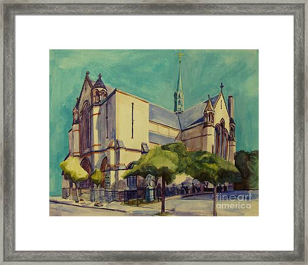 Gate Of Heaven Church Framed Print
