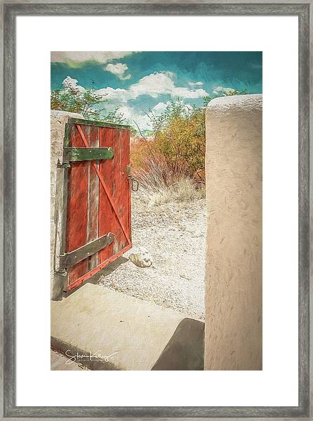 Gate To Oracle Framed Print