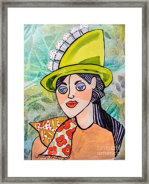Gateau Chapeau Framed Print
