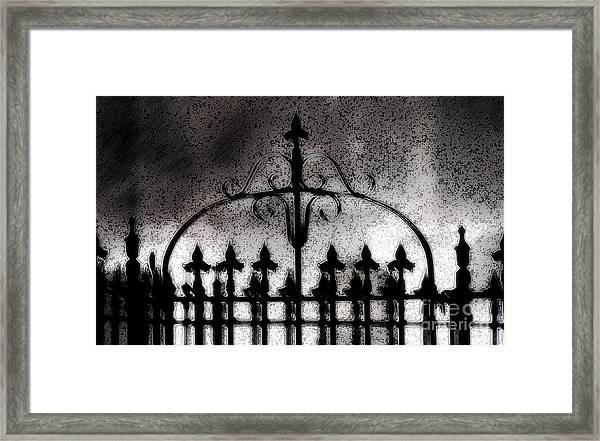 Gated Framed Print