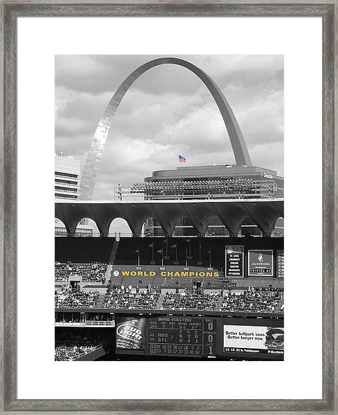 Framed Print featuring the photograph Gateway by Dylan Punke