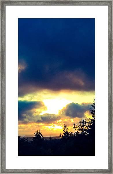 Gateway To The Heavens Framed Print