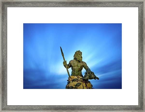 Gateway To The Sea Framed Print