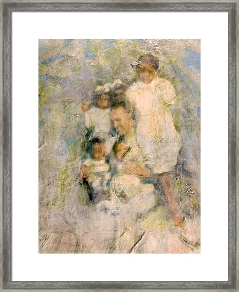 Gather Round Framed Print