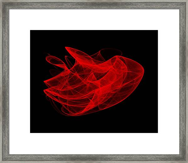 Gathering Wave I Framed Print by Robert Krawczyk