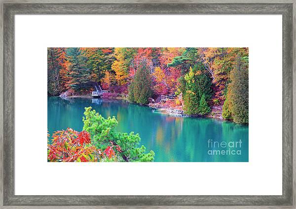Gatineau Park Tour Framed Print