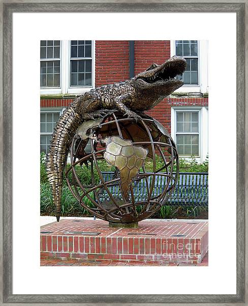 Gator Ubiquity Framed Print