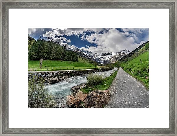Gavarnie France Framed Print