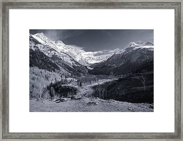 Gavarnie Framed Print