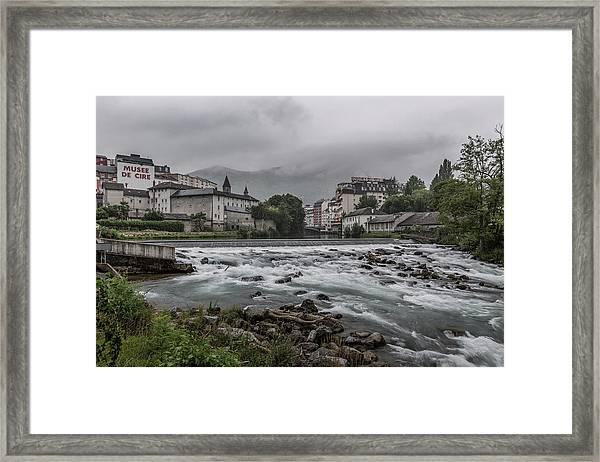 Gave De Pau Lourdes Framed Print