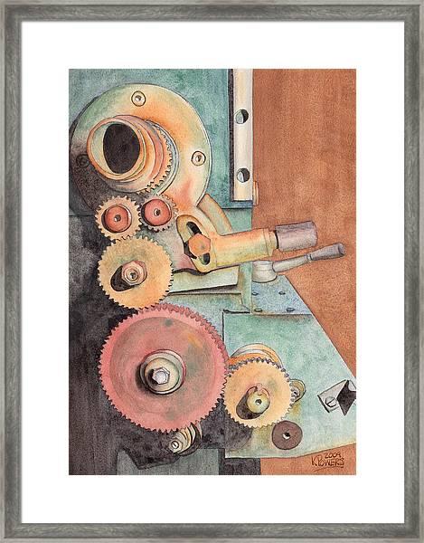 Gears Framed Print