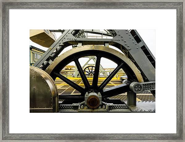 Gears Work Framed Print