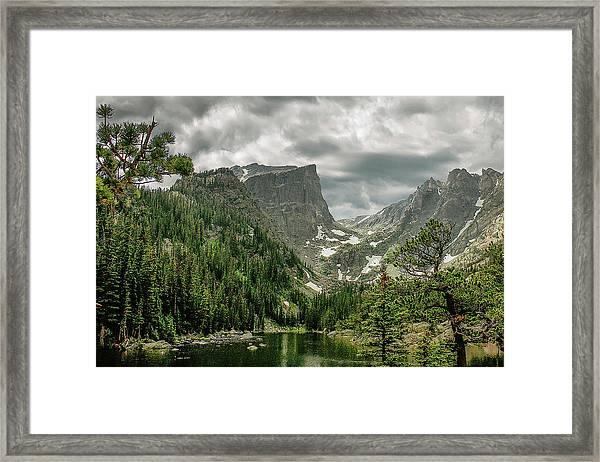Gem Lake Framed Print