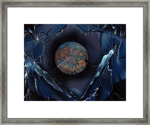Gem Mountain Framed Print