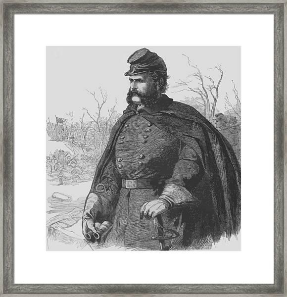 General Ambrose Burnside Framed Print